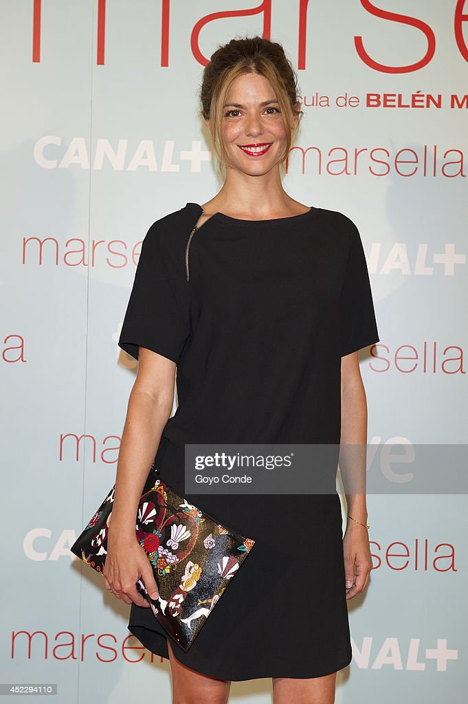 Spanish actress Manuela Velasco attends 'Marsella' premiere at the Capitol cinema on July 17, 2014 in Madrid, Spain.