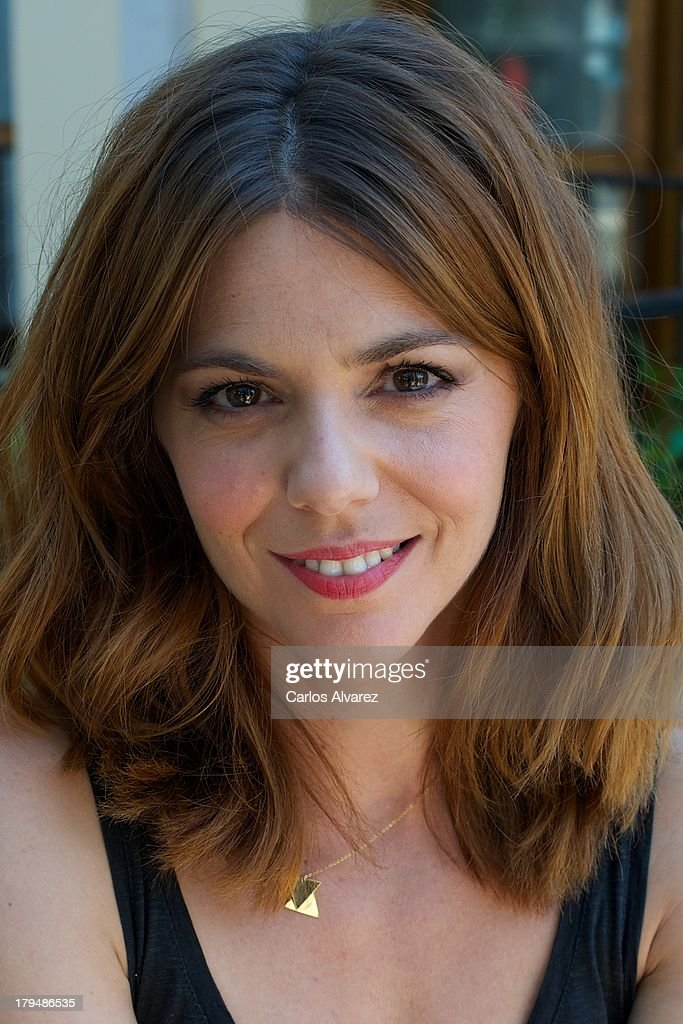 Spanish actress <a gi-track='captionPersonalityLinkClicked' href=/galleries/search?phrase=Manuela+Velasco&family=editorial&specificpeople=4475762 ng-click='$event.stopPropagation()'>Manuela Velasco</a> attends the 'Galerias Velvet' new season presentation during the day three of 5th FesTVal Television Festival 2013 at the Villa Suso Palace on September 4, 2013 in Vitoria-Gasteiz, Spain.