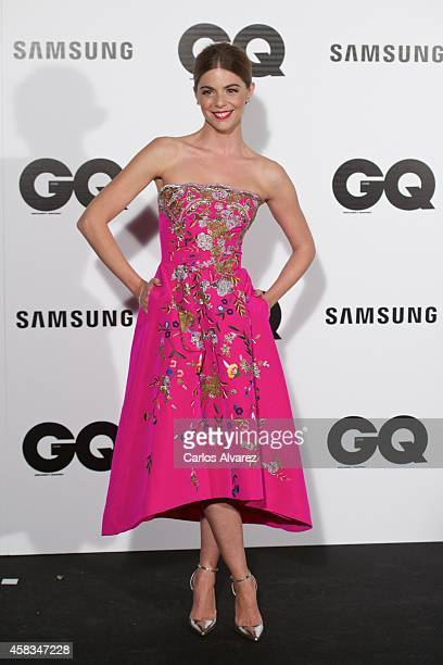 Spanish actress Manuela Velasco attends the GQ 2014 Men of the Year awards at the Palace Hotel on November 3 2014 in Madrid Spain