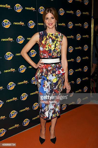 Spanish actress Manuela Velasco attends the Neox Fan Awards 2014 at the Compac Gran Via Theater on October 8 2014 in Madrid Spain