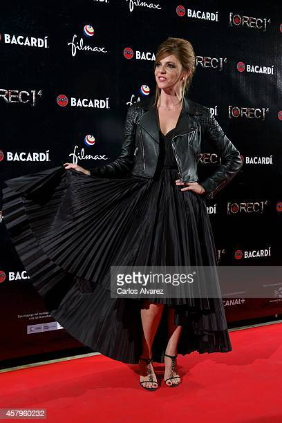 Spanish actress Manuela Velasco attends the 'REC 4' premiere at the Capitol cinema on October 27 2014 in Madrid Spain