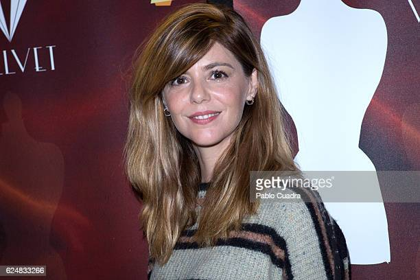 Spanish actress Manuela Velasco presents Velvet charity market against cancer at Cineteca on November 21 2016 in Madrid Spain