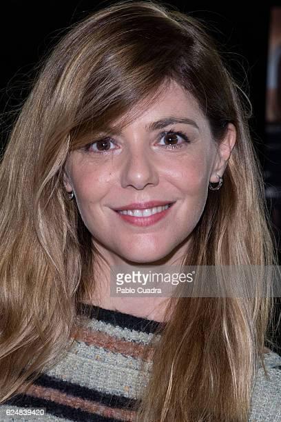 Spanish actress Manuela Velasco presents Velvet charity market against cancer at Cineteca on November 21 2016 in Madrid Spain
