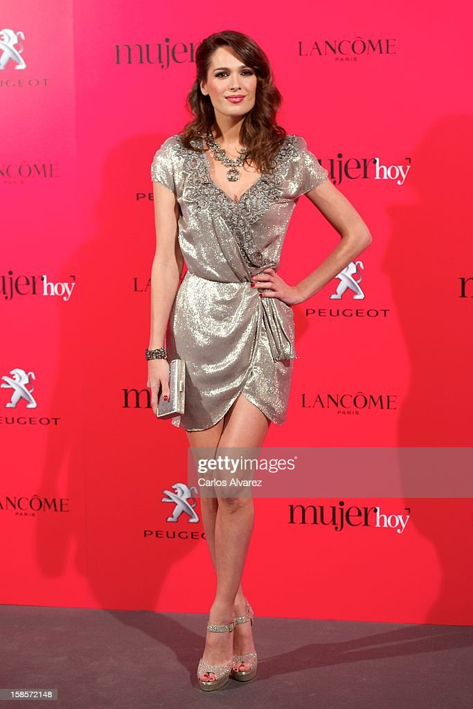 Spanish actress Mar Saura attends Mujer Hoy awards 2012 at ABC Museum on December 19, 2012 in Madrid, Spain.