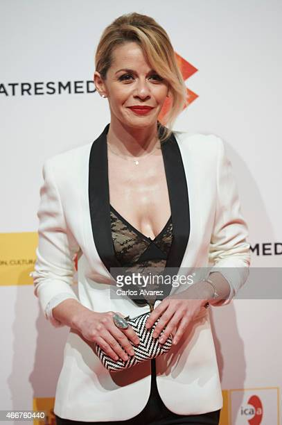 Spanish actress Maria Adanez attends the Malaga Film Festival cocktail presentation at Circulo de Bellas Artes on March 18 2015 in Madrid Spain