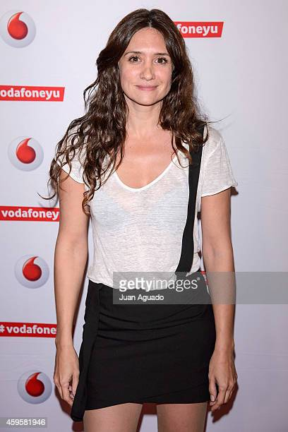 Spanish actress Maria Botto attends the Leiva concert at Joy Eslava Club on November 25 2014 in Madrid Spain