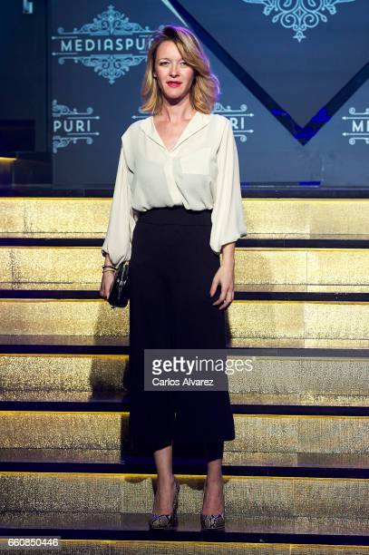Spanish actress Maria Esteve attends the opening of the new Clandestine Show Club 'The Secret' on March 30 2017 in Madrid Spain
