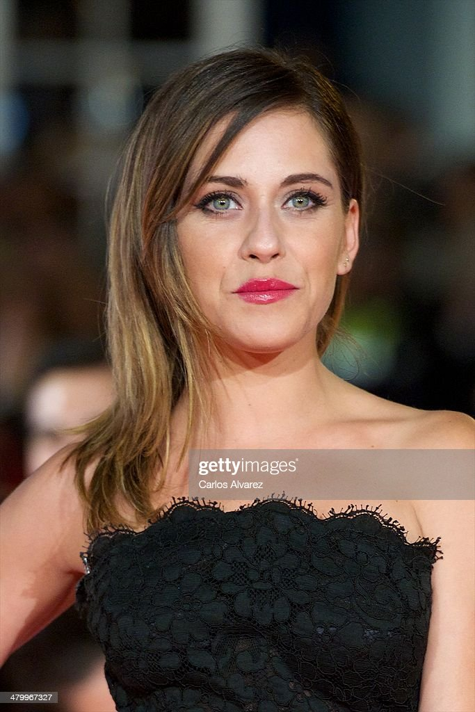 Spanish actress Maria Leon attends the 17th Malaga Film Festival 2014 opening ceremony at the Cervantes Theater on March 21, 2014 in Malaga, Spain.