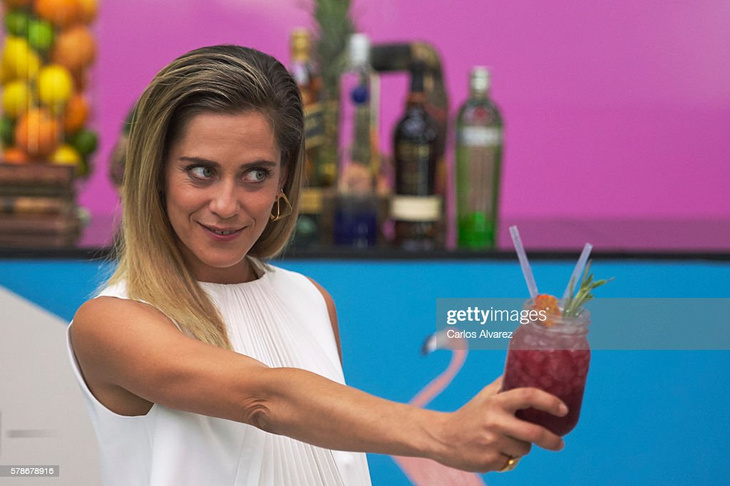 Spanish actress Maria Leon attends the World Class Final Competition 2016 at the Goya Theater on July 4 2016 in Madrid Spain