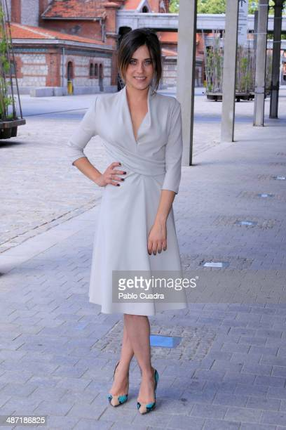 Spanish actress Maria Leon sighting on April 28 2014 in Madrid Spain