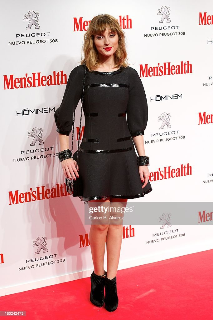 Spanish actress <a gi-track='captionPersonalityLinkClicked' href=/galleries/search?phrase=Maria+Valverde&family=editorial&specificpeople=235988 ng-click='$event.stopPropagation()'>Maria Valverde</a> attends Men's Health Awards 2013 at the Canal Theater on October 29, 2013 in Madrid, Spain.