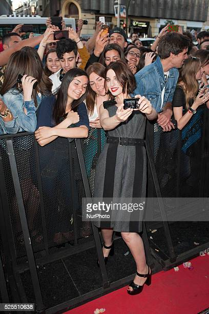 Spanish Actress Maria Valverde attends the 'Ahora o Nunca' photocall premier in Capitol cinema June 16 2015 in Madrid Spain Photo Oscar...