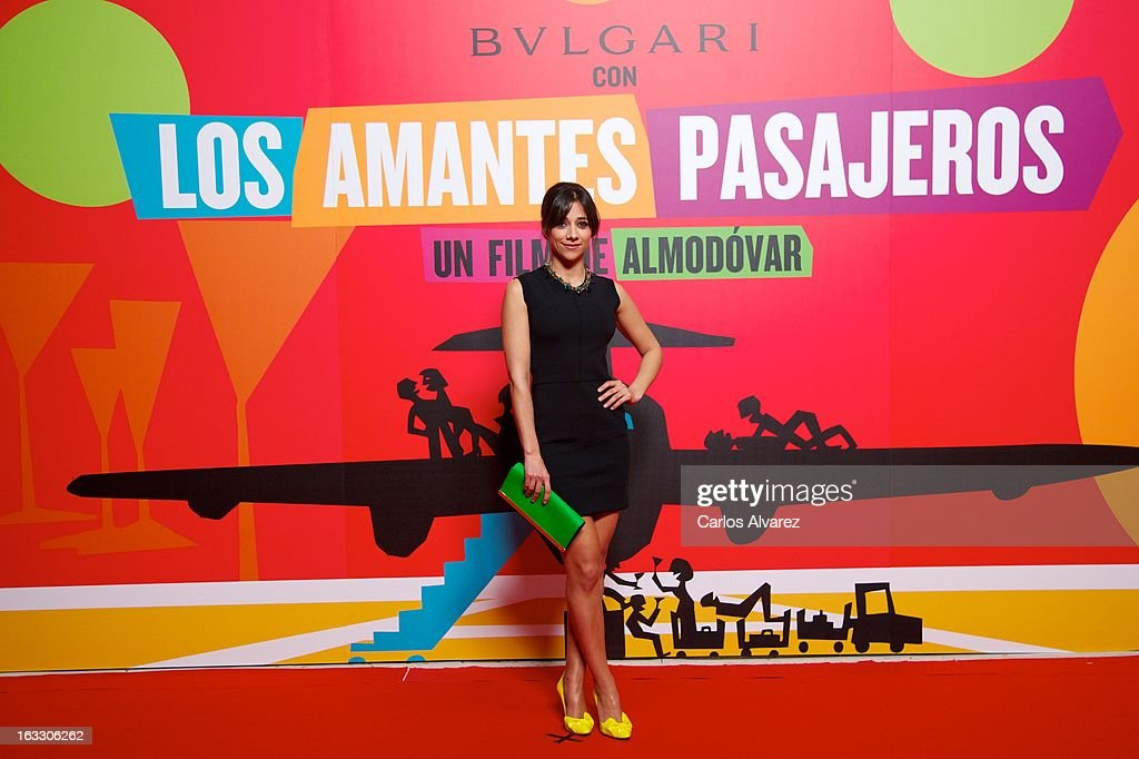 Spanish actress Mariam Hernandez attends 'Los Amantes Pasajeros' premiere party at Casino de Madrid on March 7, 2013 in Madrid, Spain.
