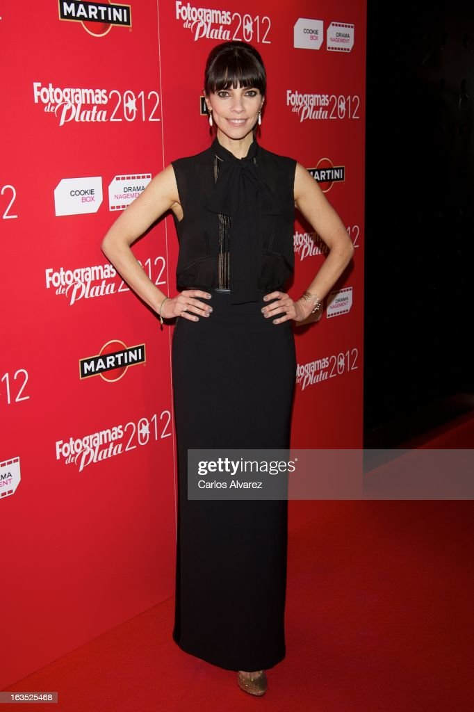 Spanish actress Maribel Verdu attends Fotogramas awards 2013 at the Joy Eslava Club on March 11, 2013 in Madrid, Spain.