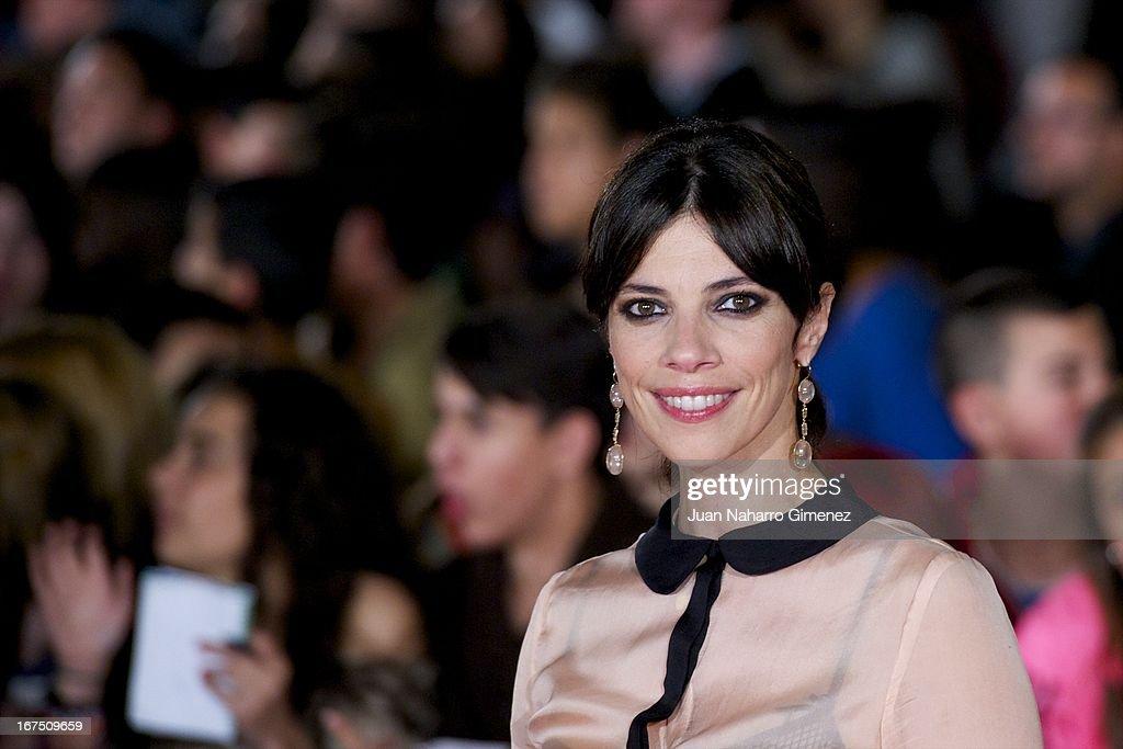 Spanish actress Maribel Verdu attends 'Gala Premio Eloy de la Iglesia' during 16 Malaga Fiml Festival at Teatro Cervantes on April 25, 2013 in Malaga, Spain.
