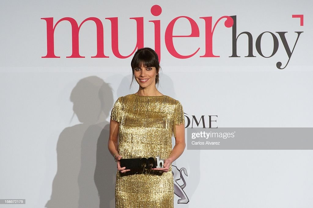 Spanish actress Maribel Verdu attends Mujer Hoy awards 2012 at ABC Museum on December 19, 2012 in Madrid, Spain.