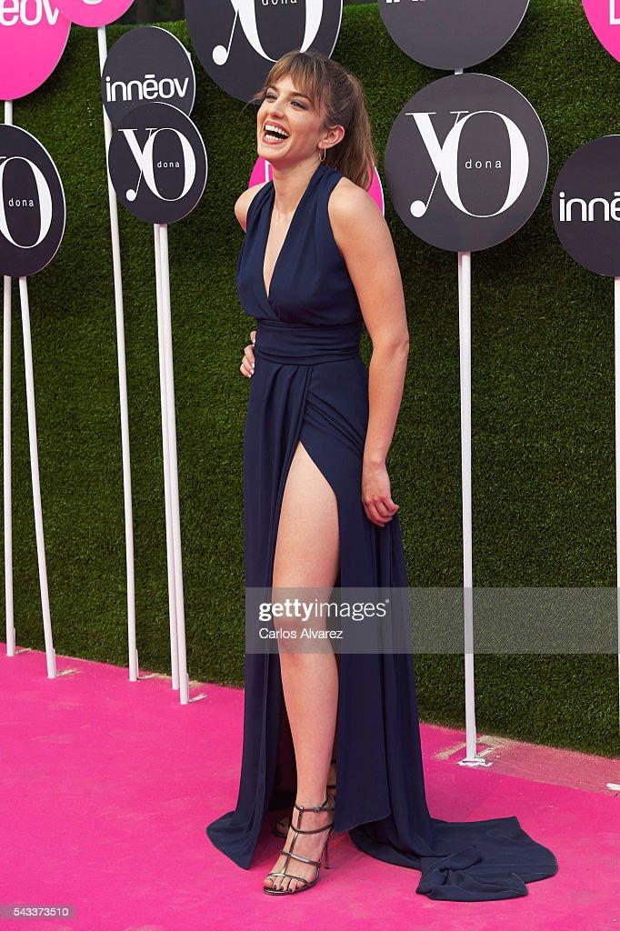 Spanish actress Marina Salas attends 'Yo Dona' International awards on June 27, 2016 in Madrid, Spain.