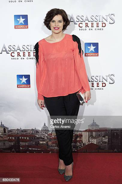 Spanish actress Mariona Ribas attends 'Assassin's Creed' premiere at Kinepolis cinema on on December 22 2016 in Madrid Spain