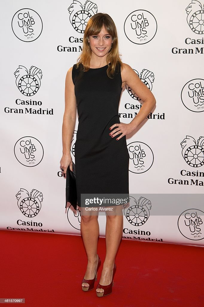 Spanish actress <a gi-track='captionPersonalityLinkClicked' href=/galleries/search?phrase=Marta+Etura&family=editorial&specificpeople=789541 ng-click='$event.stopPropagation()'>Marta Etura</a> attends the Casino Gran Madrid Colon opening on January 9, 2014 in Madrid, Spain.