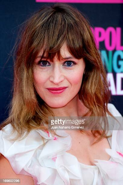 Spanish actress Marta Larralde attends the 'Cosmopolitan Shopping Week' party at the Plaza de Callao on May 28 2013 in Madrid Spain