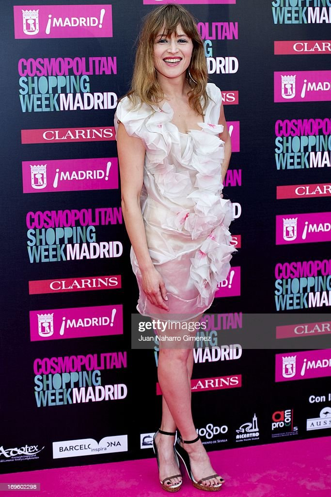 Spanish actress Marta Larralde attends the 'Cosmopolitan Shopping Week' party at the Plaza de Callao on May 28, 2013 in Madrid, Spain.