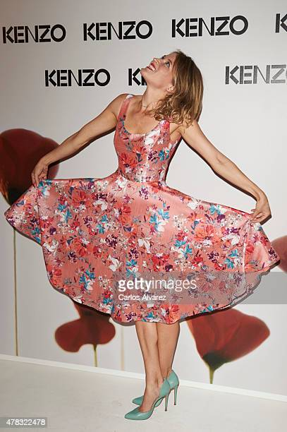 Spanish actress Marta Larralde attends the 'Kenzo' summer party at the Giner de los Rios Foundation on June 24 2015 in Madrid Spain