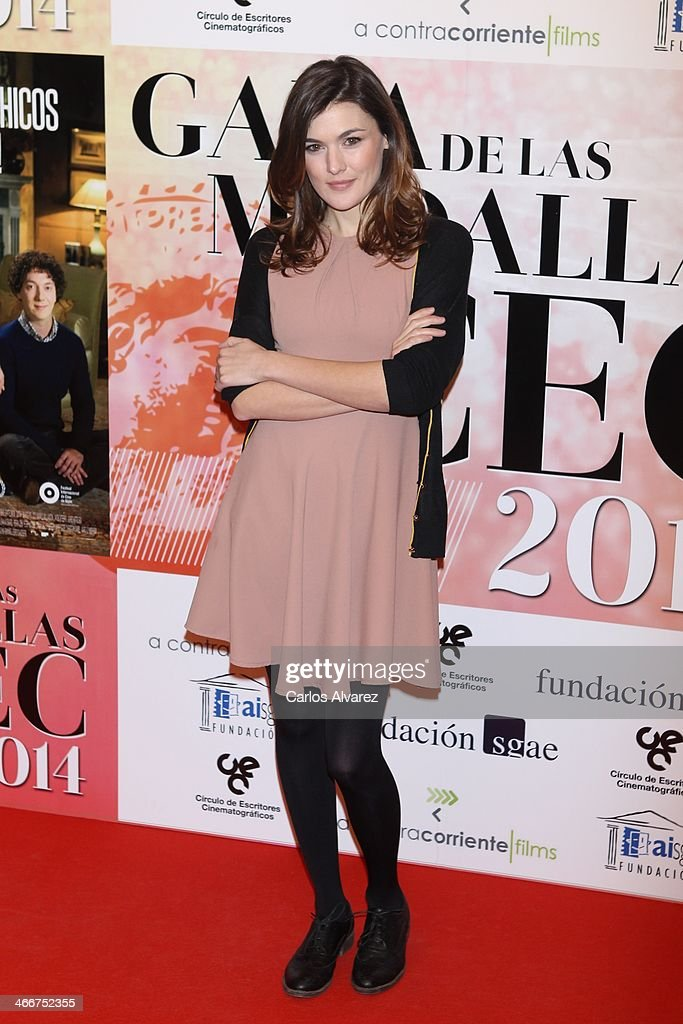 Spanish actress Marta Nieto attends the 'CEC' medals 2014 at the Palafox cinema on February 3, 2014 in Madrid, Spain.