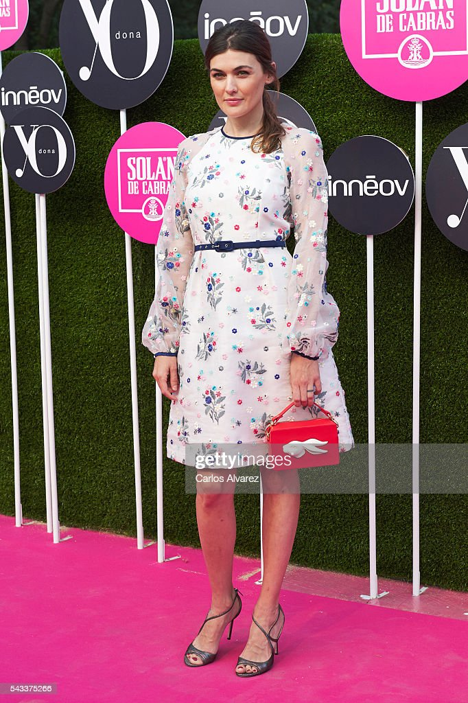 Spanish actress Marta Nieto attends 'Yo Dona' International awards on June 27, 2016 in Madrid, Spain.