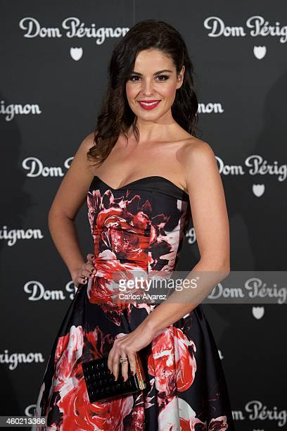 Spanish actress Marta Torne attends Dom Perignon party at the Duarte Palace on December 9 2014 in Madrid Spain