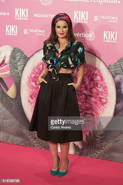 Spanish actress Marta Torne attends 'Kiki El Amor Se Hace' premiere at the Capitol premiere on March 30 2016 in Madrid Spain