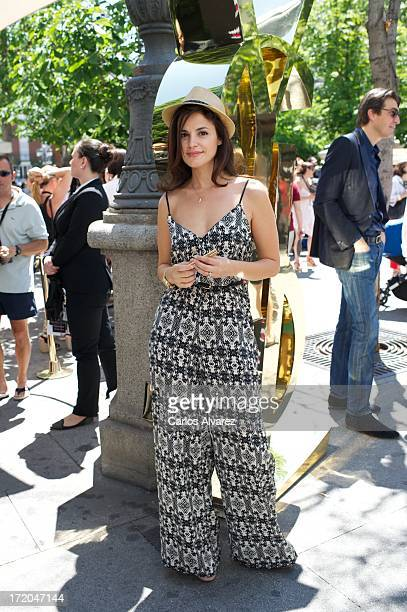 Spanish actress Marta Torne attends the 'Marlango' concert at the Hotel ME on June 29 2013 in Madrid Spain