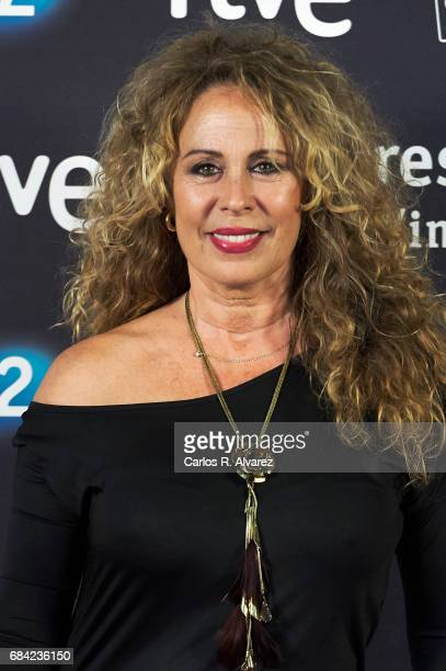 Spanish actress Miriam Diaz Aroca attends the 'Imprescindibles' premiere at the Cineteca cinema on May 17 2017 in Madrid Spain