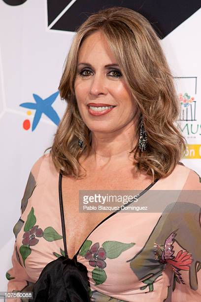 Spanish actress Miriam Diaz Aroca attends the 'Jubilo Awards 2010' at Lope de Vega Theatre on December 13 2010 in Madrid Spain