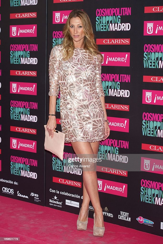 Spanish actress Monica Pont attends the 'Cosmopolitan Shopping Week' party at the Plaza de Callao on May 28, 2013 in Madrid, Spain.