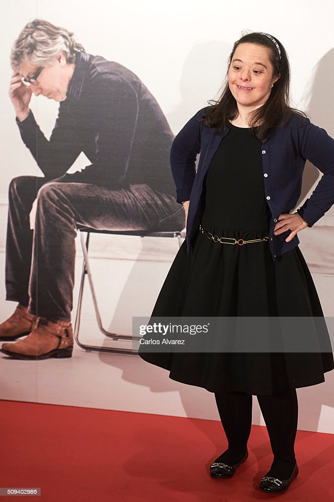 Spanish actress Natalia Abascal attends the 'Que fue de Jorge Sanz' premiere at the Proyecciones cinema on February 10, 2016 in Madrid, Spain.
