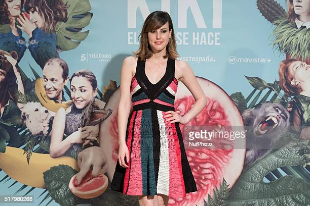 Spanish actress Natalia de Molina attends quotKiki El Amor Se Hacequot photocall at the Urso Hotel on March 29 2016 in Madrid Spain