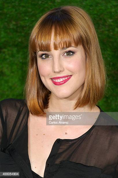 Spanish actress Natalia de Molina attends the 'Boyhood' premiere at the Cineteca cinema on September 9 2014 in Madrid Spain