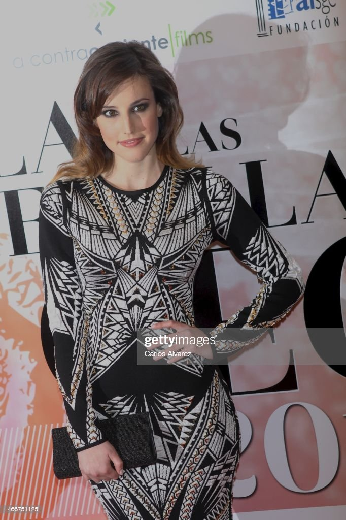 Spanish actress Natalia de Molina attends the 'CEC' medals 2014 at the Palafox cinema on February 3, 2014 in Madrid, Spain.