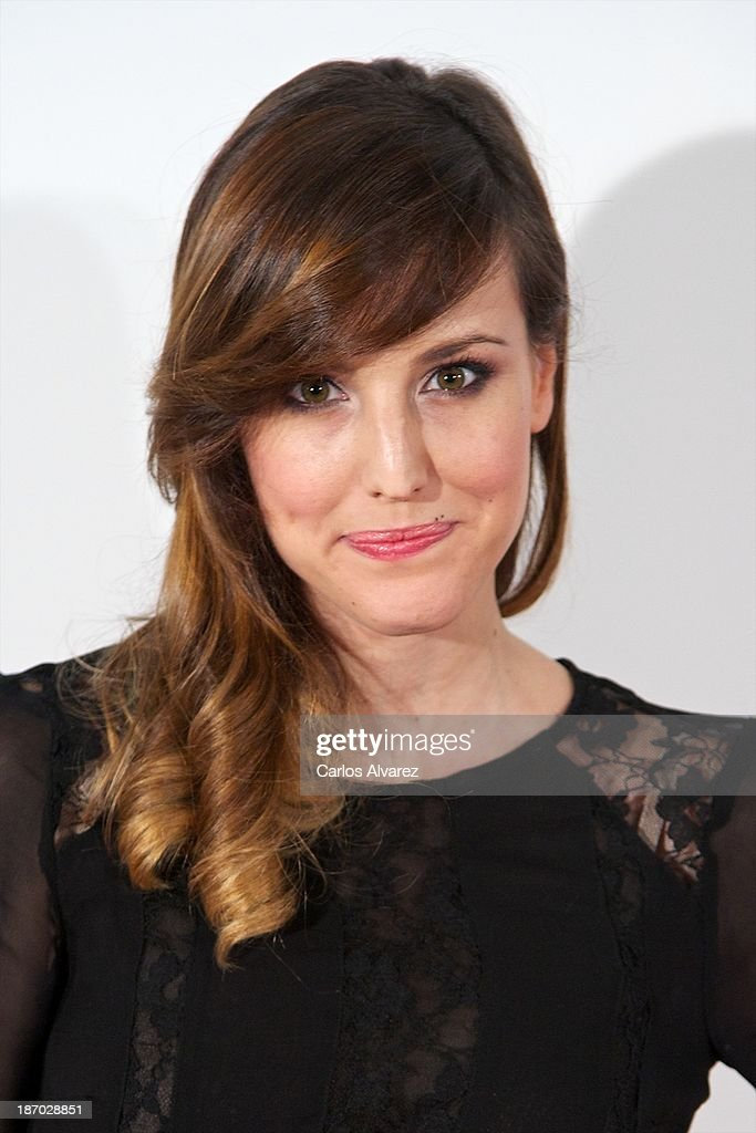 Spanish actress Natalia de Molina attends the 'Septimo' premiere at the Capitol cinema on November 5, 2013 in Madrid, Spain.