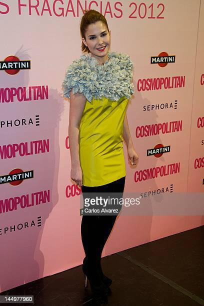 Spanish actress Natalia Sanchez attends 'Cosmopolitan Fragances Awards 2012' at the Calderon Theater on May 21 2012 in Madrid Spain