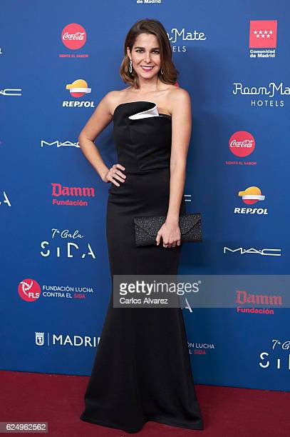 Spanish actress Natalia Sanchez attends 'Gala Sida' 2016 at Madrid City Hall on November 21 2016 in Madrid Spain