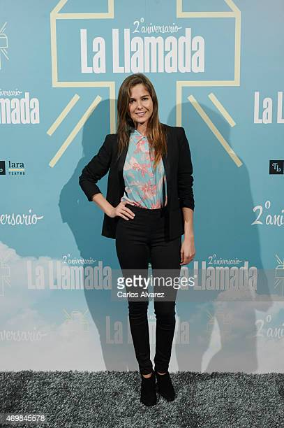 Spanish actress Natalia Sanchez attends 'La Llamada' premiere at the Lara Theater on April 15 2015 in Madrid Spain