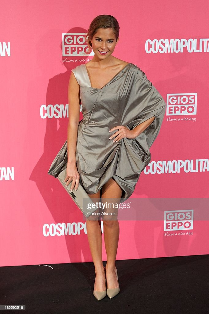 Spanish actress Natalia Sanchez attends the Cosmopolitan Fun Fearless Female Awards 2013 at the Ritz Hotel on October 22, 2013 in Madrid, Spain.