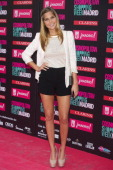 Spanish actress Natalia Sanchez attends the 'Cosmopolitan Shopping Week' party at the Plaza de Callao on May 28 2013 in Madrid Spain