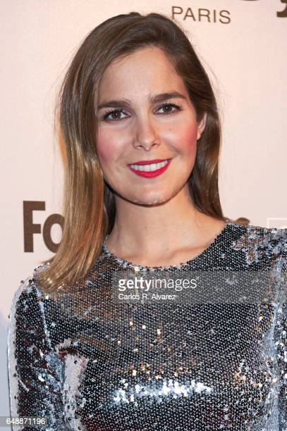 Spanish actress Natalia Sanchez attends the Fotogramas Magazine cinema awards 2017 at the Joy Eslava Club on March 6 2017 in Madrid Spain