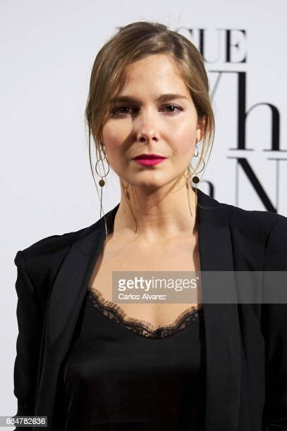Spanish actress Natalia Sanchez attends the 'Vogue Who's On Next' party at the El Principito Club on May 18 2017 in Madrid Spain