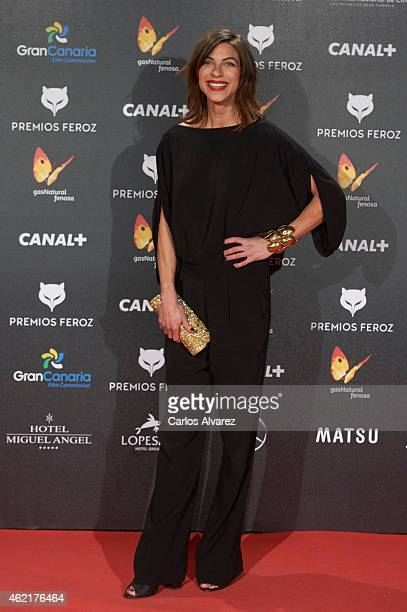 Spanish actress Natalia Tena attends the 'Feroz' Cinema Awards 2015 at Gran Teatro Ruedo Las Ventas on January 25 2015 in Madrid Spain