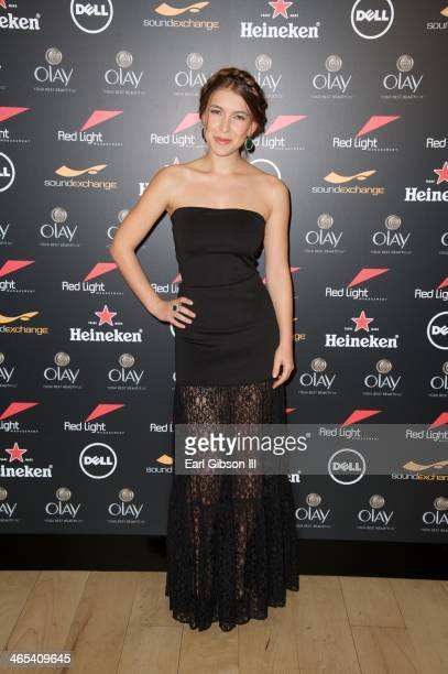 Spanish Actress Nathalia Ramos attends The Grammy Awards Red Light Management Party at Sky Bar Mondrian Hotel on January 26 2014 in West Hollywood...