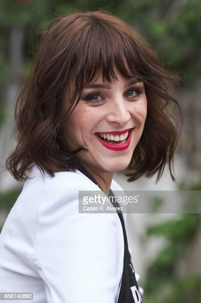 Spanish actress Nausicaa Bonnin attends the 'La Luz de Elna' photocall on day 5 of the 20th Malaga Film Festival on March 21 2017 in Malaga Spain
