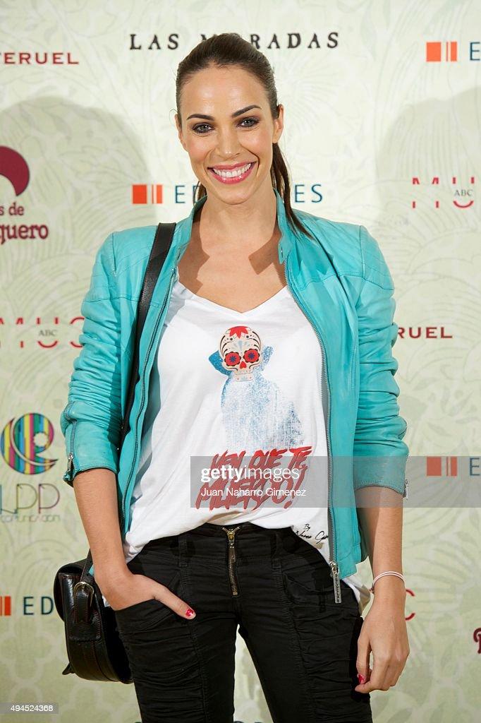 Spanish actress Nerea Garmendia attends 'Coleccion Miranda' presentation at Museo ABC on October 27 2015 in Madrid Spain